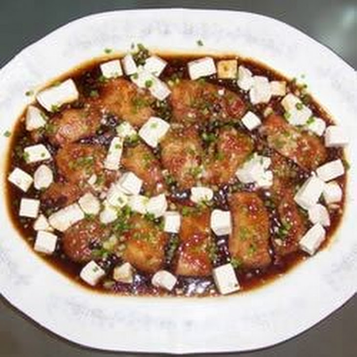 Chinese Steamed White Fish Fillet with Tofu (Cantonese Style) Recipe