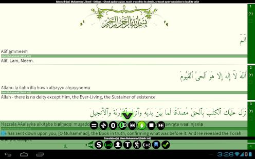 Quran Tafsir Pro - screenshot thumbnail