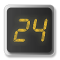 App 24 Clock Widget apk for kindle fire
