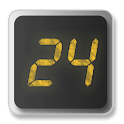 24 Clock Widget logo