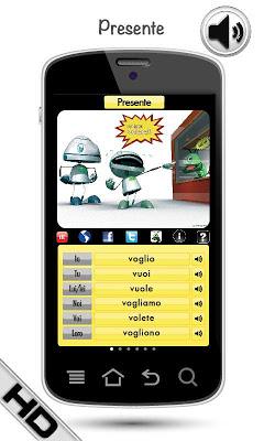 Free Italian Verbs - screenshot