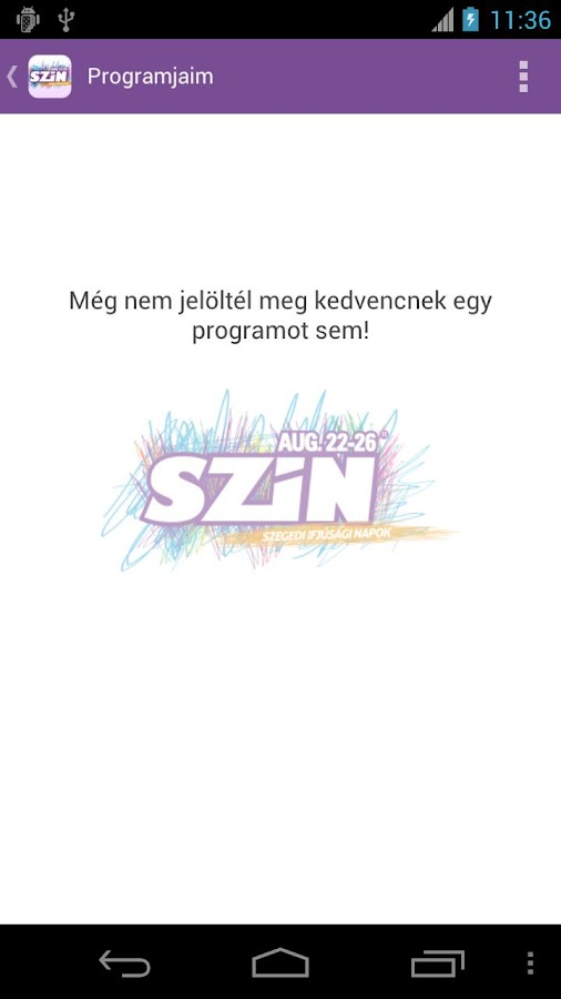 SZIN 2012 - screenshot
