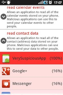 Suspicious Apps - screenshot thumbnail