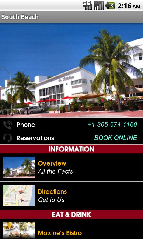 South Beach Group - screenshot