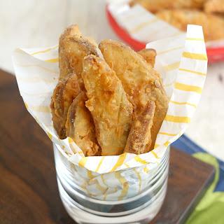 Copycat KFC Crispy Potato Wedges