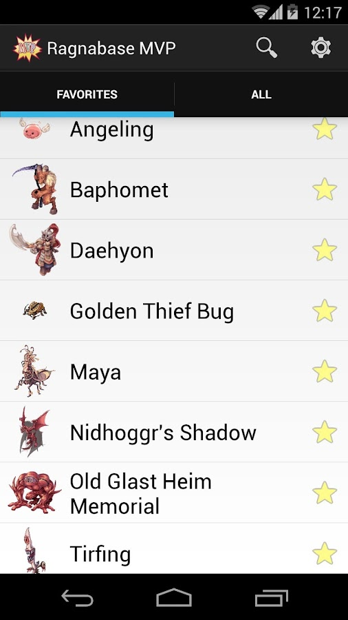 Ragnabase MVP -Ragnarok Online- screenshot