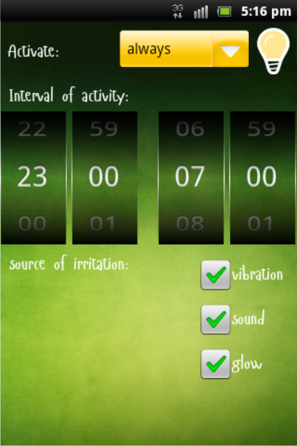 AntiSnore lite- screenshot