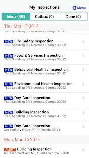 SagesGov Inspections - screenshot thumbnail