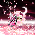 Moonlit Spring Butterfly logo
