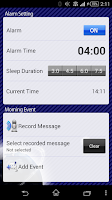 Screenshot of ELECOM Early Bird Alarm (Free)