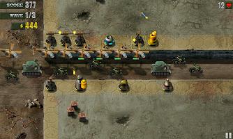 Screenshot of Defend The Bunker