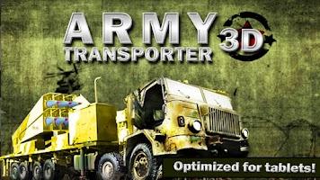 Screenshot of ARMY TRANSPORTER 3D