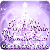 Purple Wonderland GO Launcher