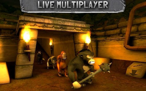 Battle Monkeys Multiplayer - screenshot thumbnail