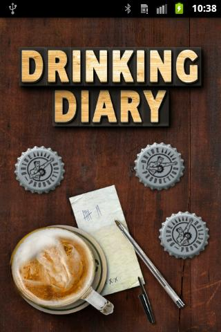 Drinking diary - screenshot