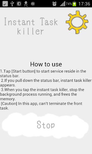 Instant Task killer