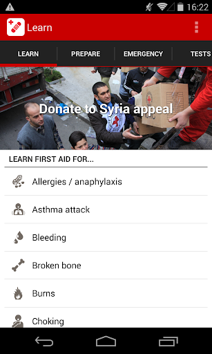 Red Cross First Aid Emergency
