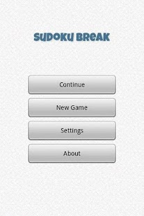 Sudoku Break - screenshot thumbnail