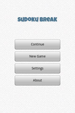 Sudoku Break - screenshot