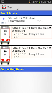 Mumbai BEST Bus by SmartShehar - screenshot thumbnail