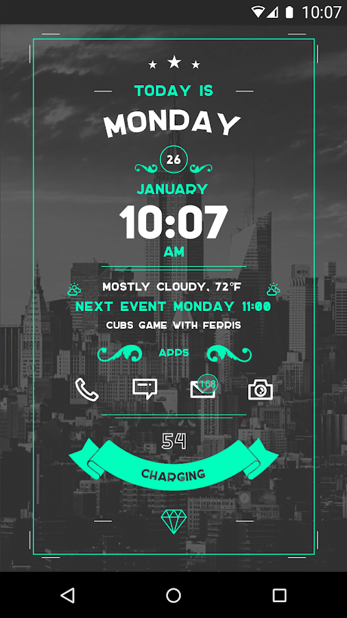 Zooper Widget Pro - screenshot