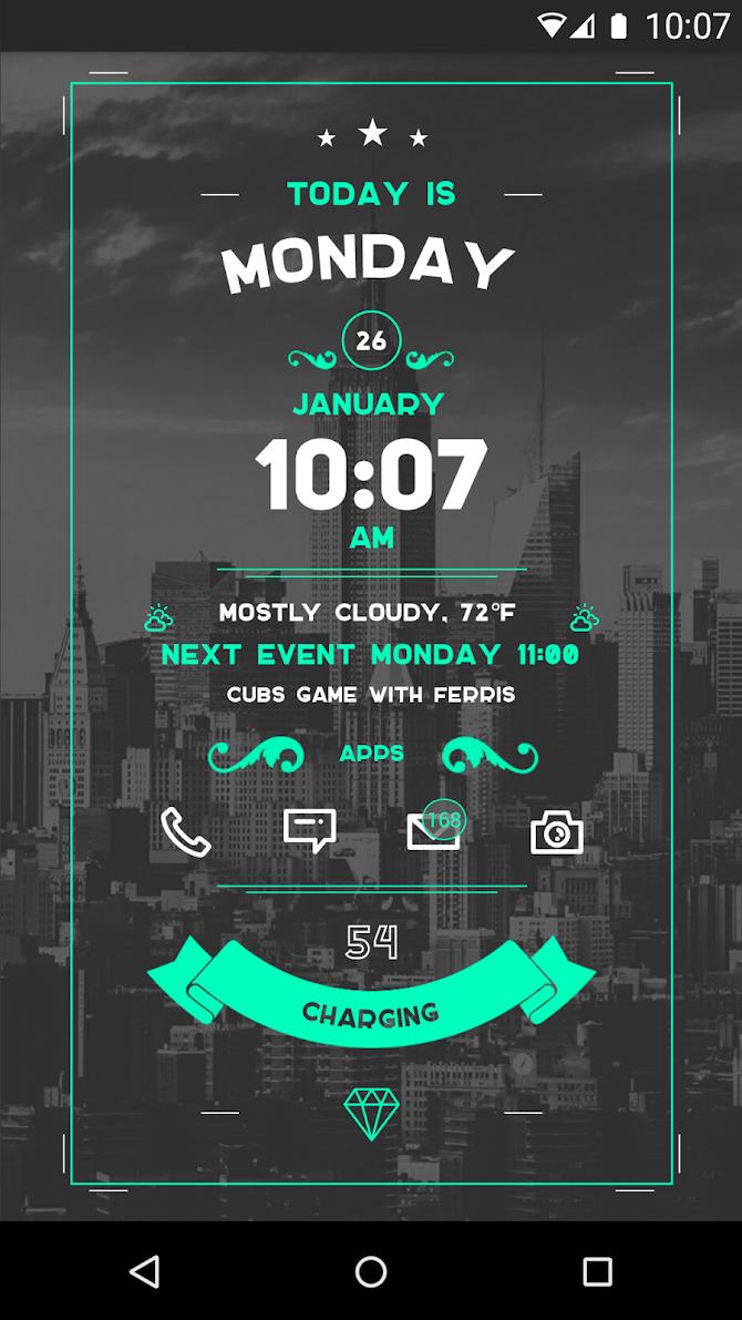 Zooper Widget Pro Android 2