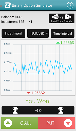 Binary Option Simulator