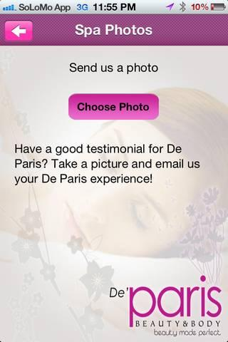 De Paris Beauty & Body- screenshot