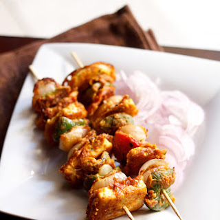 Paneer Tikka Recipe on Stove Top Recipe