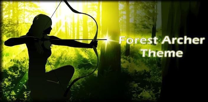 Forest Archer Theme apk