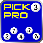 Pick 3 Lottery Tracking Pro icon