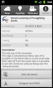 Paragliding Map (FREE) - screenshot thumbnail