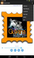 Screenshot of Guyana Radio