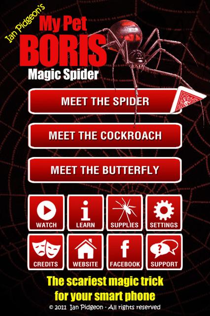 Magic Spider - screenshot
