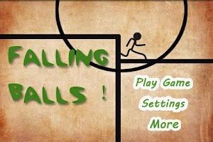 Screenshot of Falling Ball