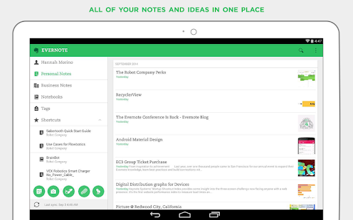 Evernote - stay organized. Screenshot 25