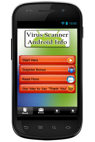 Virus Scanner Android Info