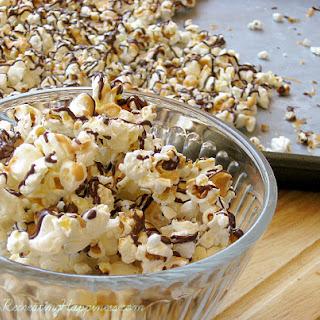 Peanut Butter & Chocolate Popcorn (Popcorn, Indiana Copycat Recipe)