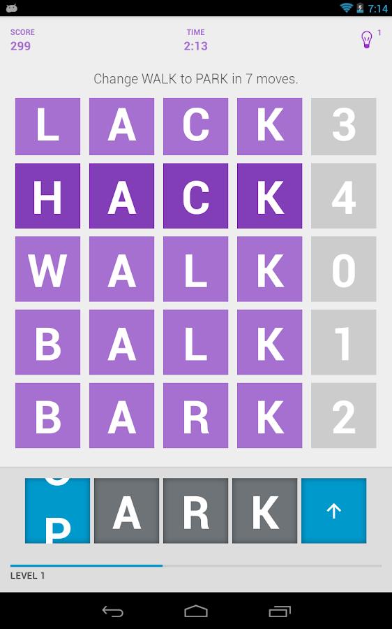 WordKick - screenshot