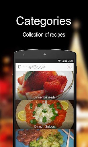 Dinner Recipe Book - FREE