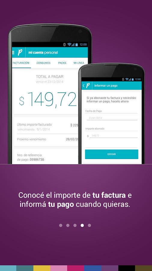 Mi Cuenta Personal- screenshot