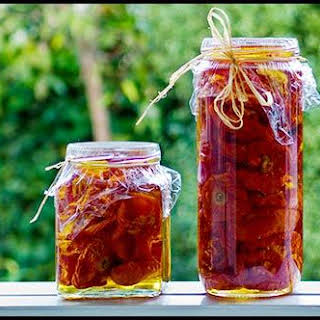 Sun-Dried Tomatoes in the Oven.