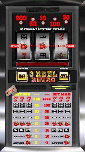 3 Reel Retro Slot Machine