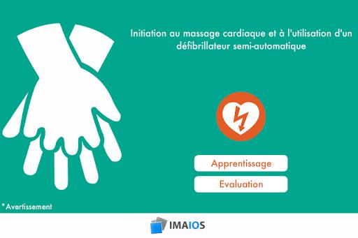 Massage cardiaque et DSA
