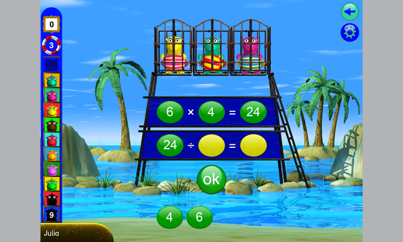 Math 2 - math with Fragenbär- screenshot