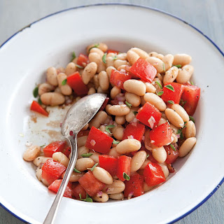 White Beans with Tomatoes and Oregano