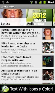 Oregon Ducks Football - screenshot thumbnail