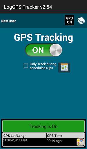 LogGPS Tracker