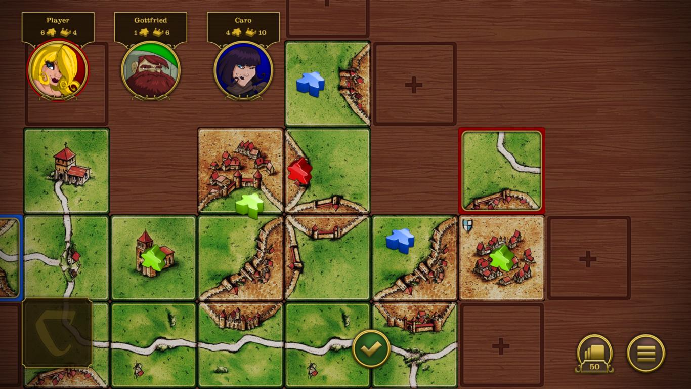 Carcassonne screenshot #17