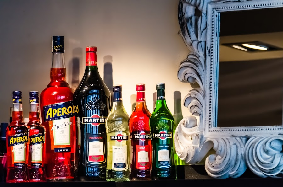 Collection by Sotiris  Filippou - Food & Drink Alcohol & Drinks ( reflection, glasses, shake, alcoholic, ocean, yellow, party, restaurant, drinks, shot, lights, sky, metal, nightclub, drink, glass, empty, pour, focus, gold, hangover, bottles, mixer, nightlife, clouds, water, orange, colors, silver, white, vodka, mix, shaker, liquid, beverage, blue, alcohol, club, scene, silver plate, night, stainless, bar )